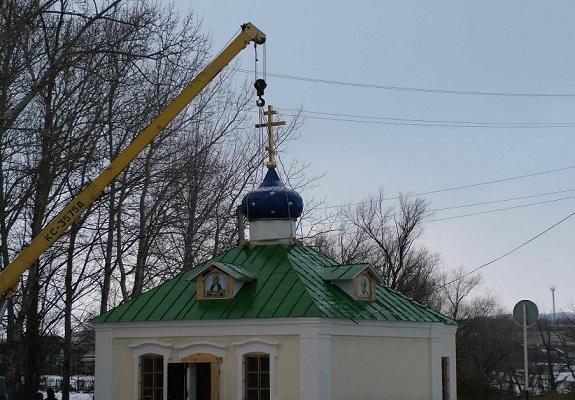 Храм Дмитрия Солунского в с. Тепловка