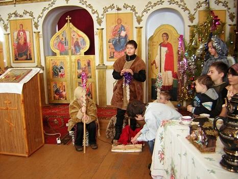 Воскресная школа при Храме Дмитрия Солунского с. Тепловка